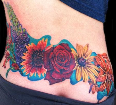 Tattoos - Flowers - 86263